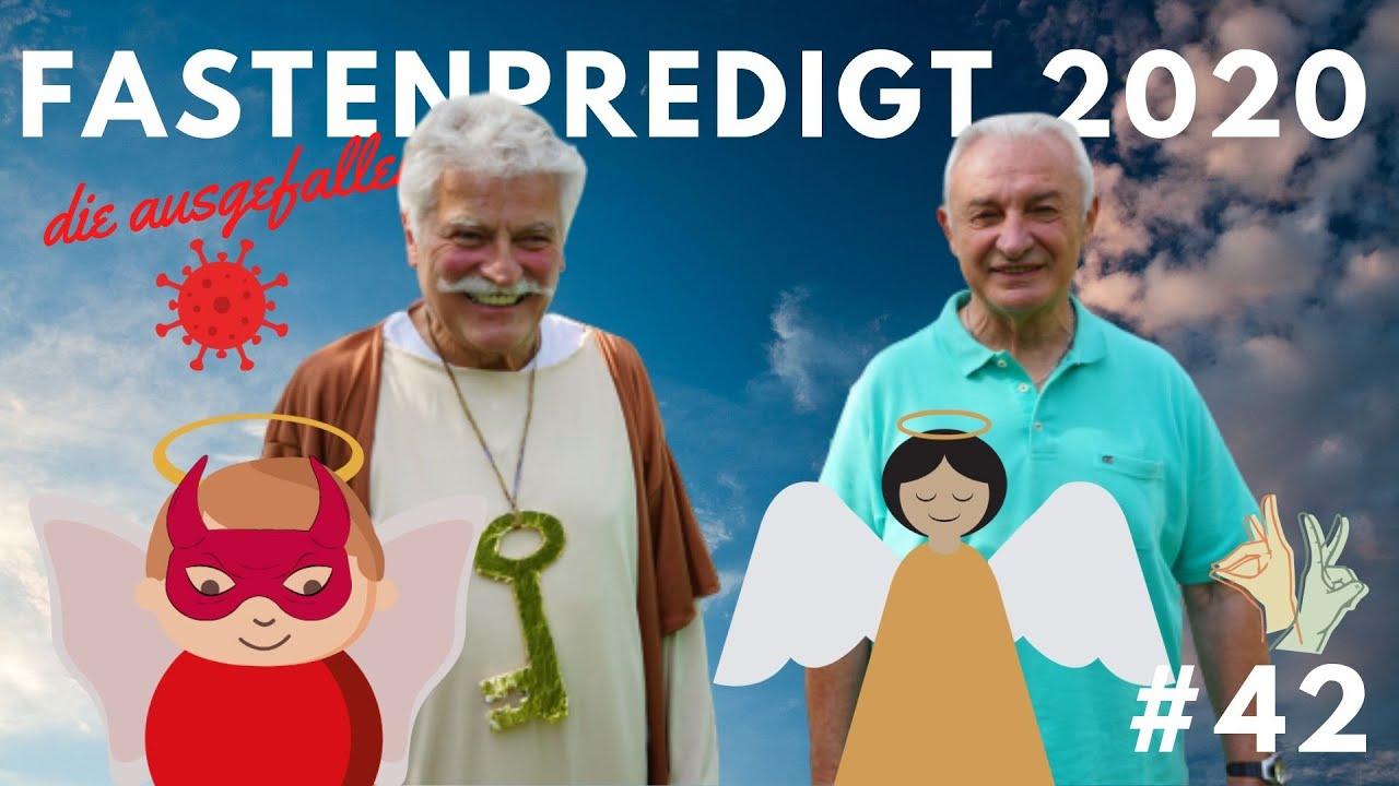"""DIE """"AUSGEFALLENE"""" FASTENPREDIGT 2020"""