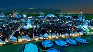 Sim City - German City @night
