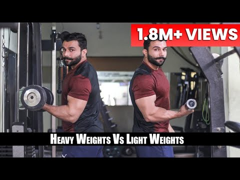 heavy vs light weight for – Fat Lose | Muscle Gain | PANGHAL FITNESS