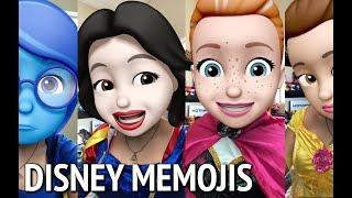 Disney Characters as Memojis on iOS 12