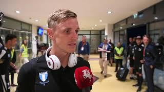 Sören Rieks efter Malmö FFs seger mot Cluj