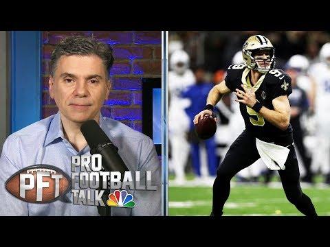 How will Sean Payton manage reps between Drew Brees, Taysom Hill? | Pro Football Talk | NBC Sports