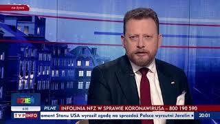 Koronawirus stwierdzony w Polsce - Gość Wiadomości