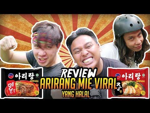 REVIEW ARIRANG MIE HALAL KOREA YANG LAGI VIRAL feat.GERRY GIRIANZA HAPPY EATING
