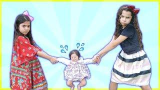 ANNY e SARAH  querem o mesmo BEBÊ REBORN - ft. Sarah de Araújo / Both want the same DOLL