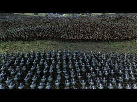 25.000 GERMAN SOLDIERS vs 50.000 US SOLDIERS - Ultimate Epic Battle Simulator