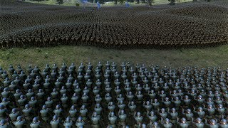 25.000 GERMAN SOLDIERS vs 50.000 US SOLDIERS - Ultimate Epic Battle Simulator