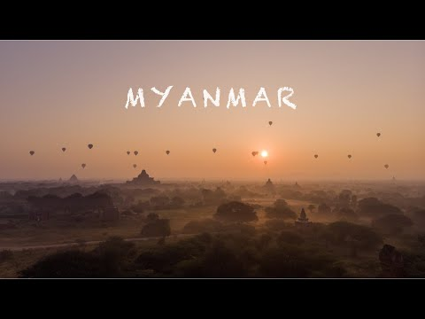 Myanmar (Bagan + Ngwesaung), Short movie, Dji Mavic Air | 4K