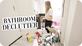 Bathroom Organization and Declutter 2019!
