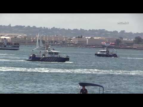 San Diego Bay: Serious Injury Boating Accident 08052017