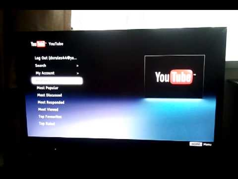 Sony Bravia Youtube Subscriptions Not Appearing Youtube