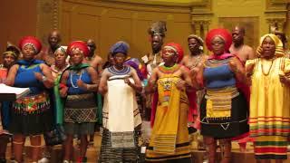 Imilonji KaNtu Choral Society Sings  Somlandela  In Boston 2012