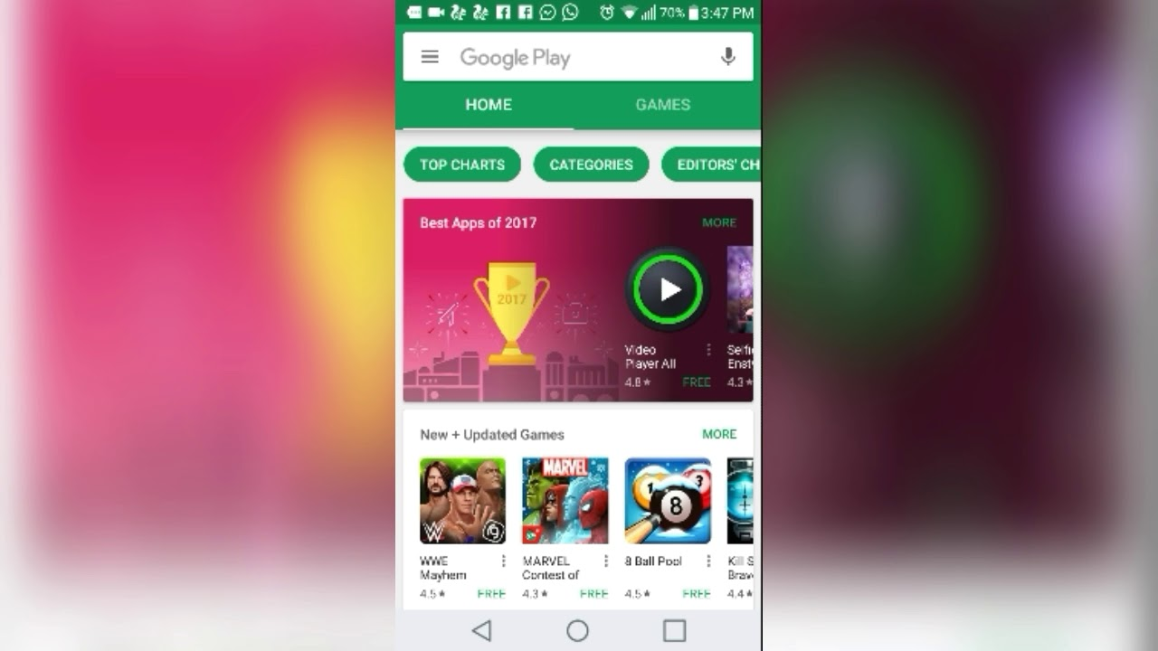 best gallery app for Android 2017 (no ads) 3d style