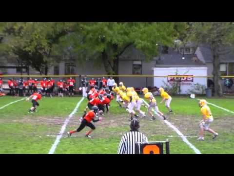 Anthony LaMonica 2014 8th Grade Defensive Back