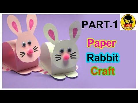 How to Make Easy Origami Rabbit Step by Step|Easy Paper Rabbit|Crafts for Kids|PART1
