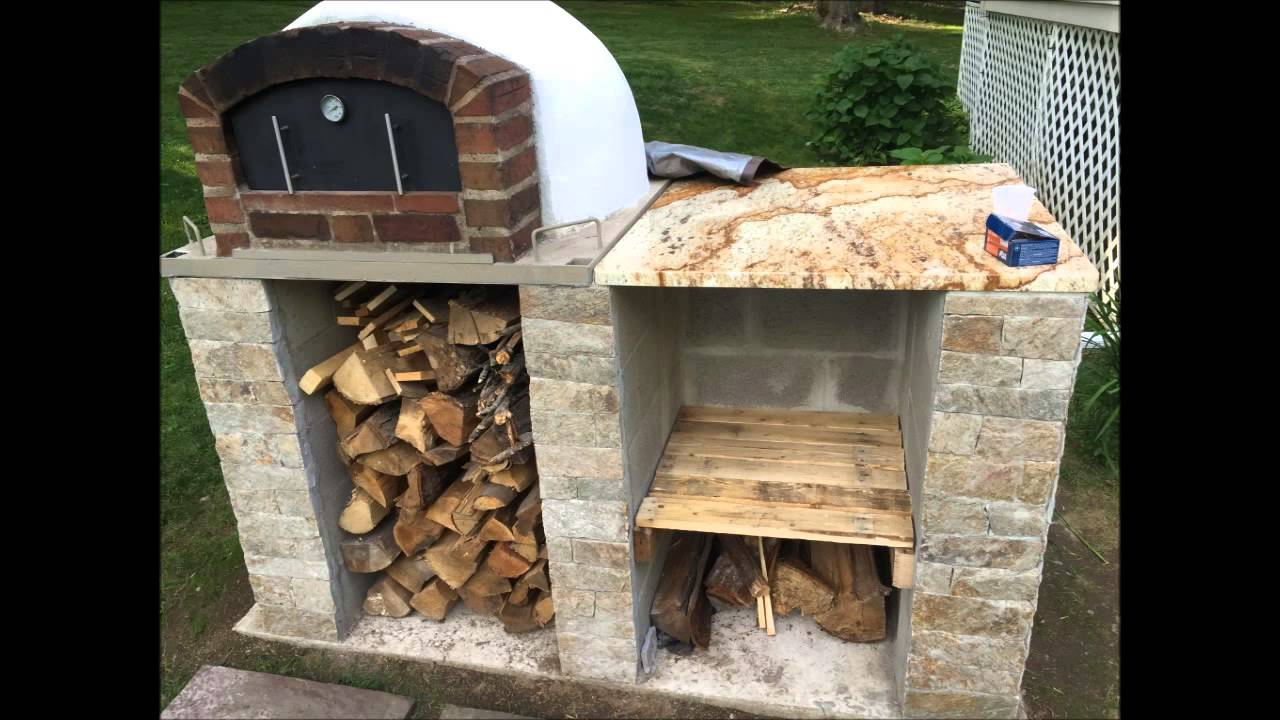 how to clean a pizza oven