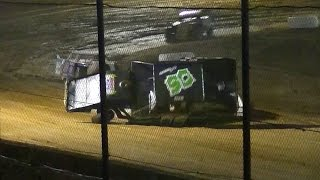 E-Mod Crash | Greg Johnson | Stateline Speedway | 5-28-16