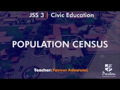 Population Census - JSS3 Civic