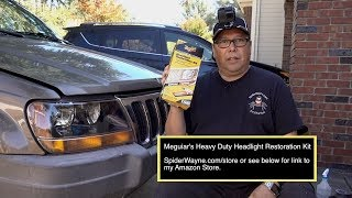 Meguiars Heavy Duty Headlight Restoration Kit