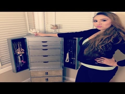 Jewelry Collection❤ Hayworth Armoire