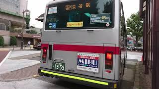 東急バス目黒営業所M810日産ディーゼル発車