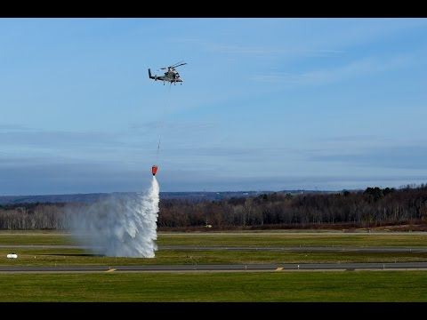 Lockheed Martin Performs Unmanned Aerial Firefighting at Griffiss