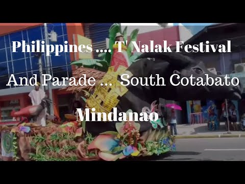 Philippines, South Cotabato, the T'Nalak Festival and Parade ..... 2016