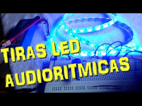 Como hacer una tira de led ritmica funnydog tv for Tiras led para tv