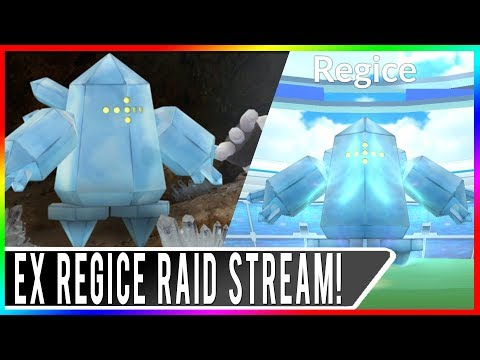 EX RAID PASS HUNTING! Regice Raids at EX Gyms in San Francisco