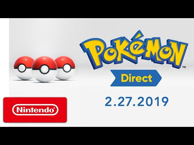 Pokemon Sword And Shield Out In 2019 And Nintendo Direct Reveal