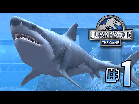 The Biggest Shark EVER Megalodon!!    Jurassic World - Lagoon Series - Ep 1 HD