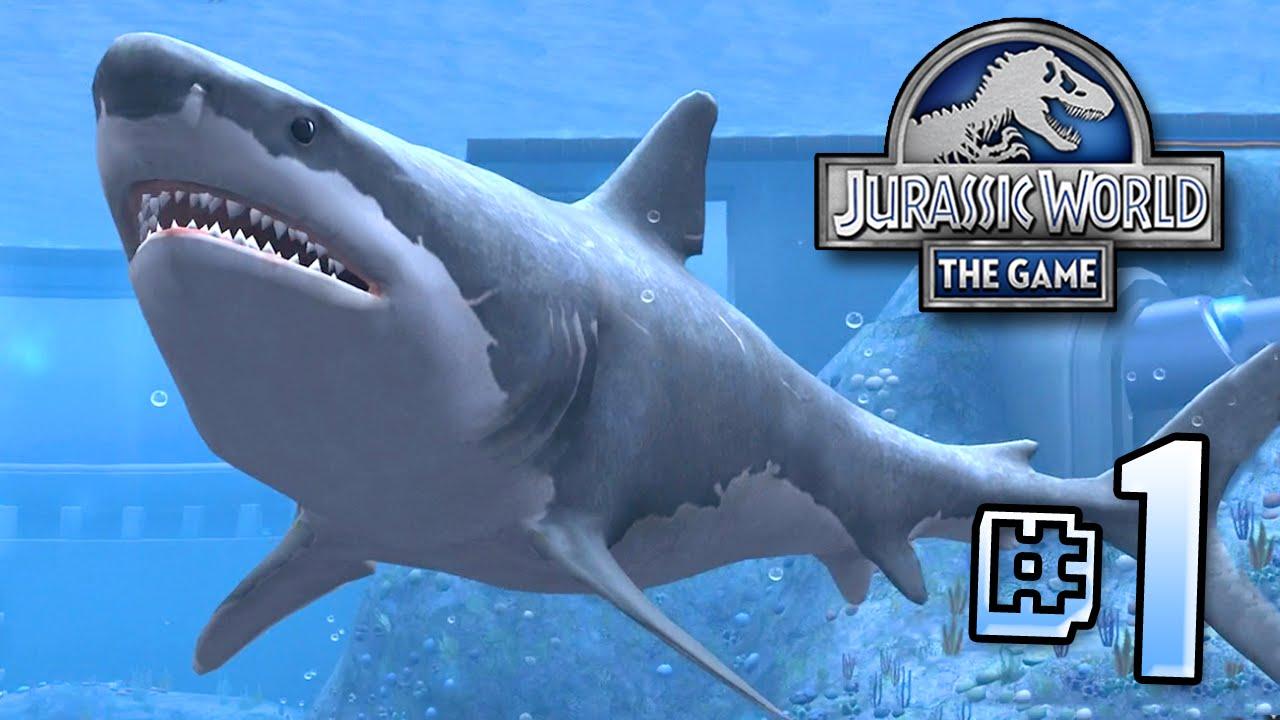 the biggest shark ever megalodon jurassic world