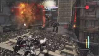 Transformers Dark of the Moon: Multiplayer Sideswipe Gameplay