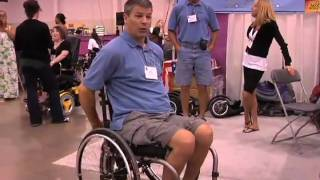 Abilities Expo: FreeWheel - Wheelchair Attachment