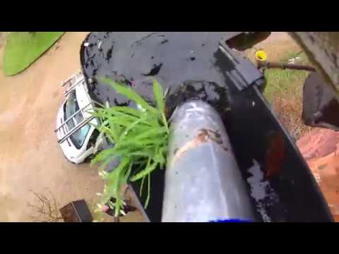 gutter cleaning SkyVac vacuum