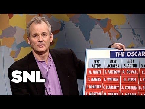 Weekend Update: Bill Murray'S 1999 Oscar Predictions  SNL