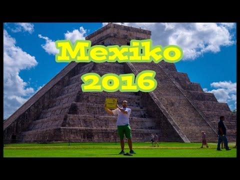 Mexiko 2016 Go Pro Hero 3 HD Round Trip Yucatan Cancun Merida Chichen Itza Cenote