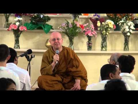 Meditation retreat with Ajahn Brahm Day 1 Instructions on me