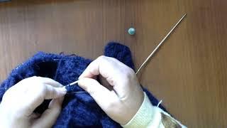 Как связать отложной воротник . #мастеркласс #красивыйузор #вязание #knitting #лучшее #мк