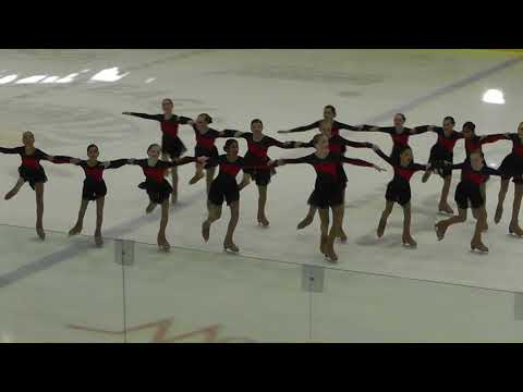 BC/YK SYNCHRO Competitions 2017/2018 - JUVENILE SKATE 1 of 2