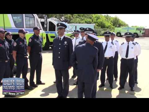 Bermuda Fire & Rescue Service Promotions, April 15 2016
