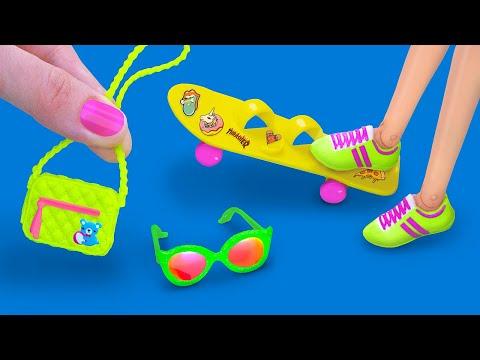 Одежда и аксессуары для Барби и ЛОЛ – 16 идей!
