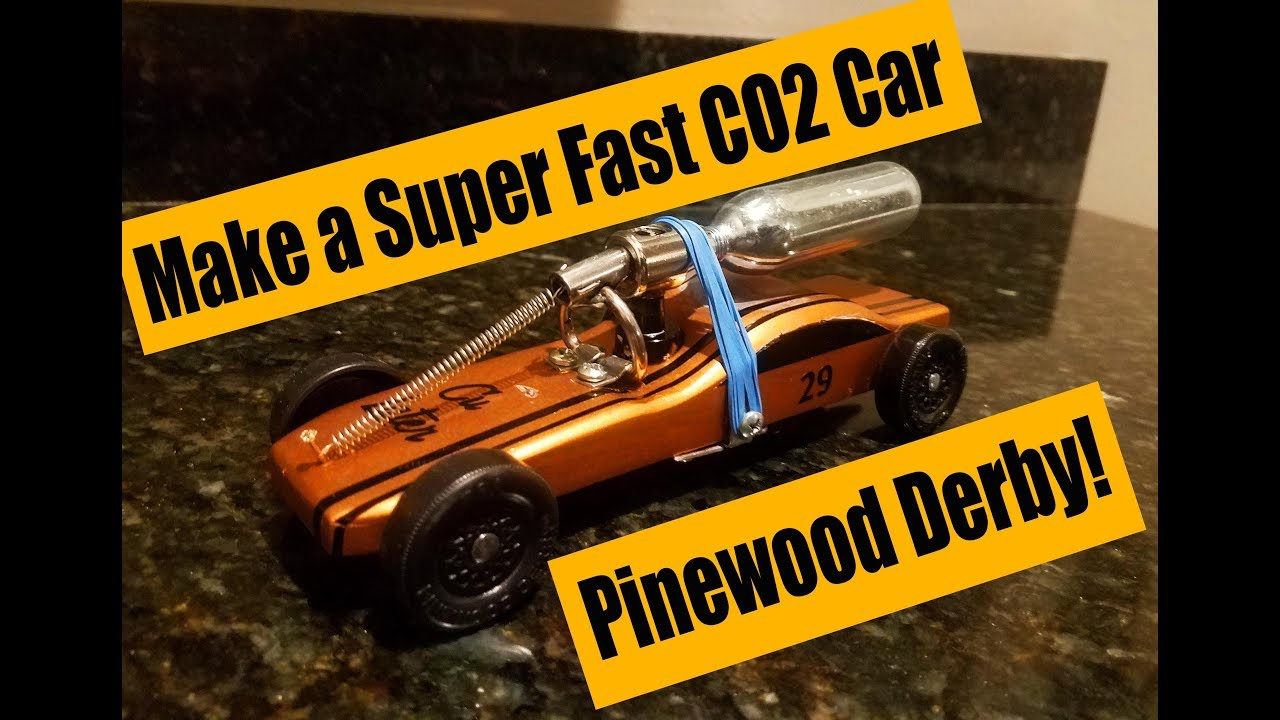 Fast Co2 Pinewood Derby Car Design Plans How It Is Built How It Works