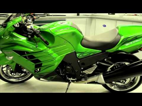 Kawasaki ZX14R INCREASED ENGINE DISPLACEMENT