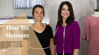 How To: Measure (Fitting, Dressmaking, Sewing)