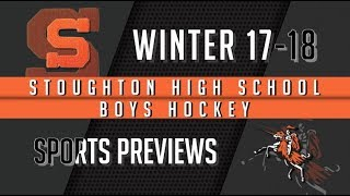 Stoughton High Boys Hockey 2017-2018 Season Preview