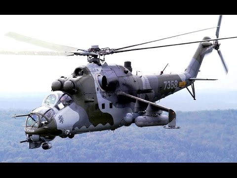 Captured Russian Hind Helicopter Used in US Army Training | Military
