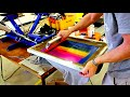 How to screen print T-Shirt Designs Properly