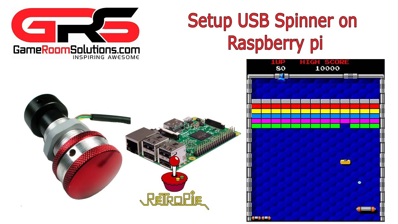 Configure a USB Spinner in RetroPie on Your Raspberry Pi