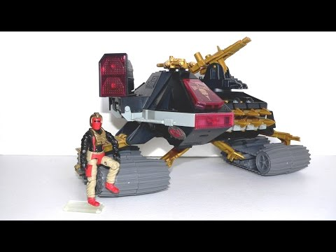 1988 D.E.M.O.N. (Iron Grenadiers tank) & Ferret G.I. Joe review